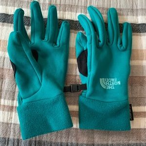 The North Face Polartec Teal Winter Gloves